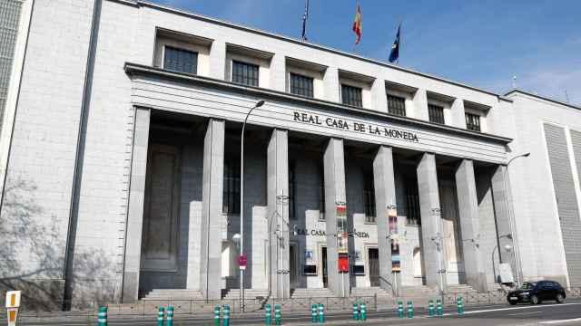 Fábrica Nacional de Moneda y Timbre.