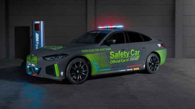 Los eléctricos llegan a MotoGP; así es el nuevo coche de seguridad de BMW