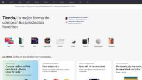 Apple rediseña su web