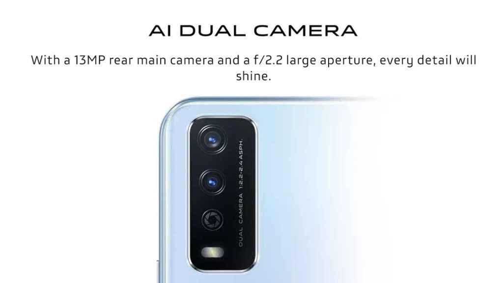 Vivo Y12G cameras