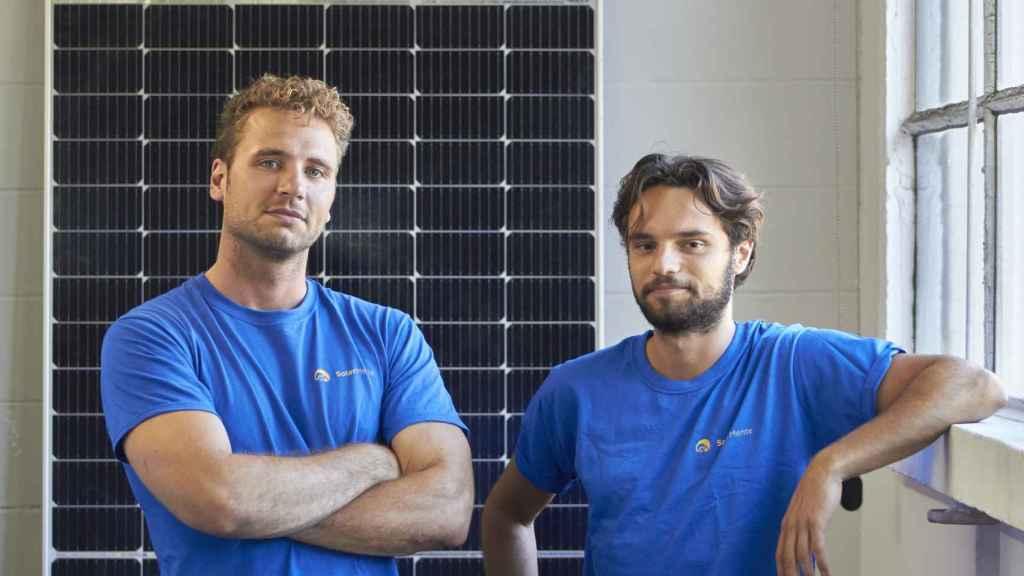 Wouter Draijer y Victor Gardrinier son los cofundadores de SolarMente.