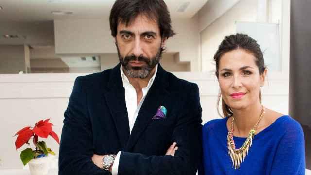 Juan del Val y Nuria Roca, en una foto de archivo.