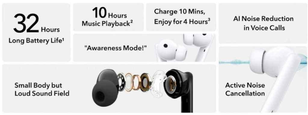 Honor Earbuds 2 Lite especificaciones
