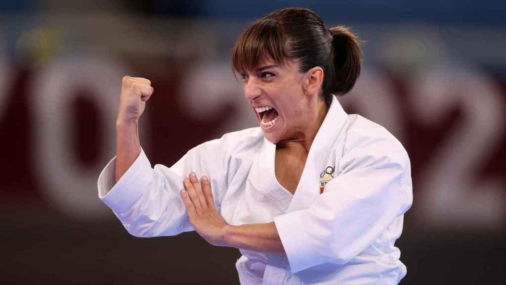 Sandra Sánchez, en los Juegos Olímpicos