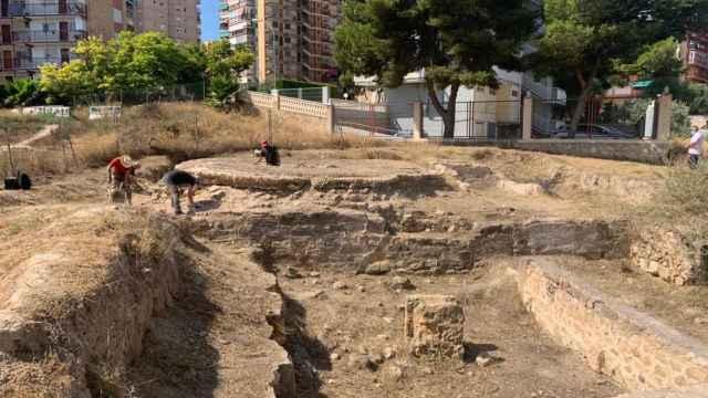 Alicante convertirá el yacimiento del Parque de las Naciones en un museo al aire libre.