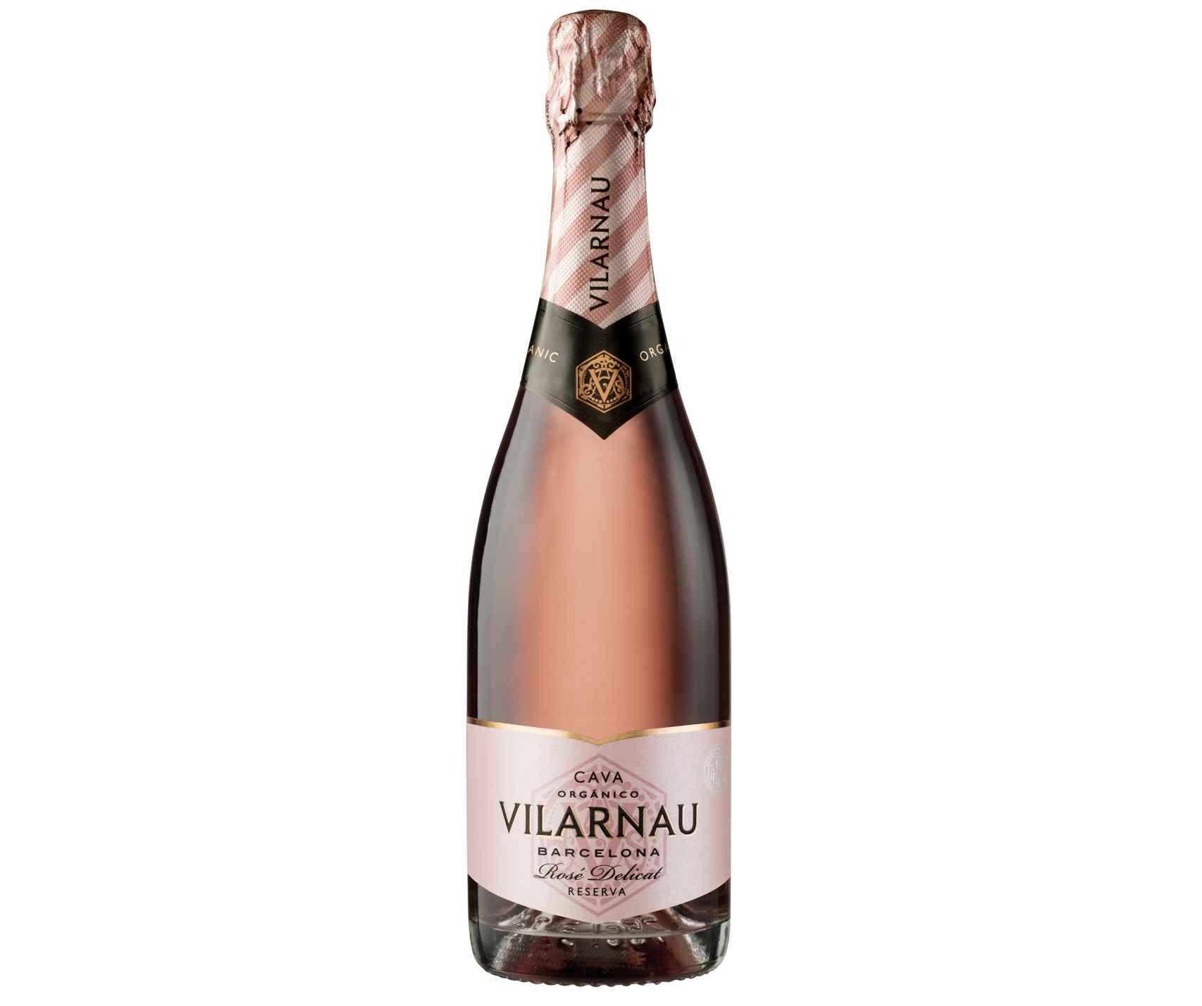 Vilarnau Rosé Delicat Ecológico (Vilarnau).