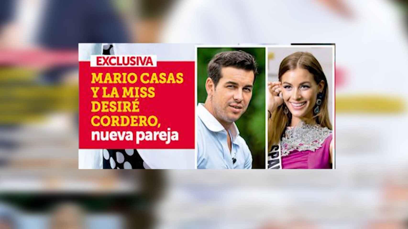 Mario Casas y Desiré Cordero, pareja sorpresa del verano