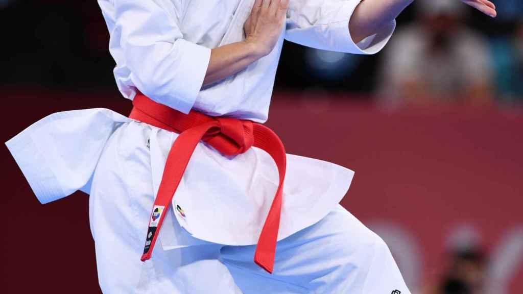 Sandra Sánchez en los Juegos Olímpicos de Tokio 2020