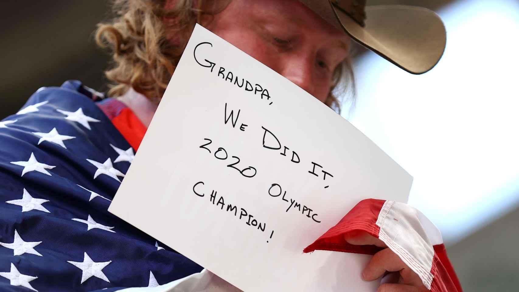 Ryan Crouser, en los Juegos Olímpicos
