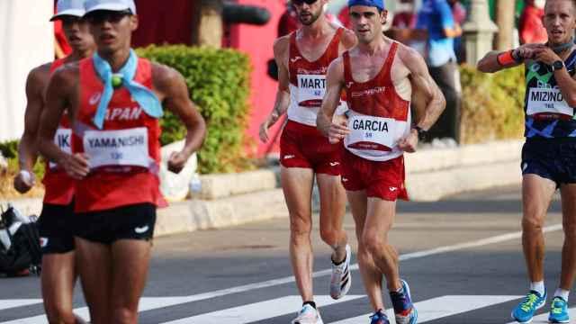 Diego Garcíaa y Álvaro Martín, en los Juegos Olímpicos