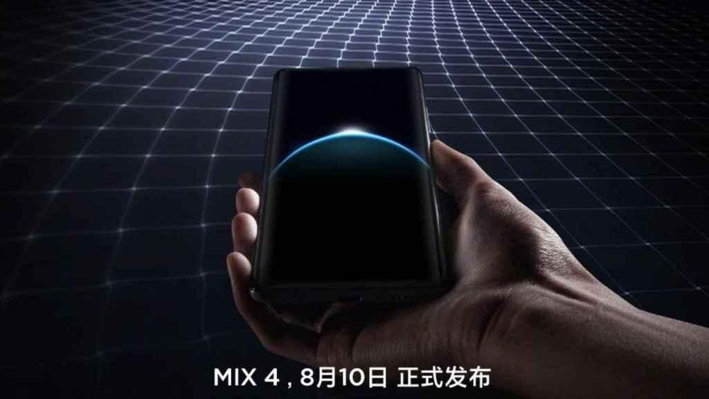El Xiaomi Mi MIX 4 confirma su diseño en nuevas fotos
