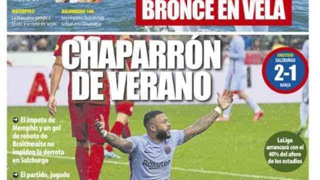 Portada Mundo Deportivo (05/08/21)