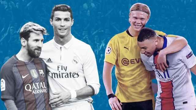 Messi, Cristiano Ronaldo, Haaland y Mbappé