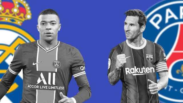 El futuro de Mbappe y Messi