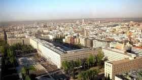 Vista general del distrito de Chamberí.