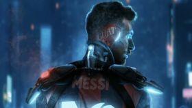 Uno de los NFT de Messi.