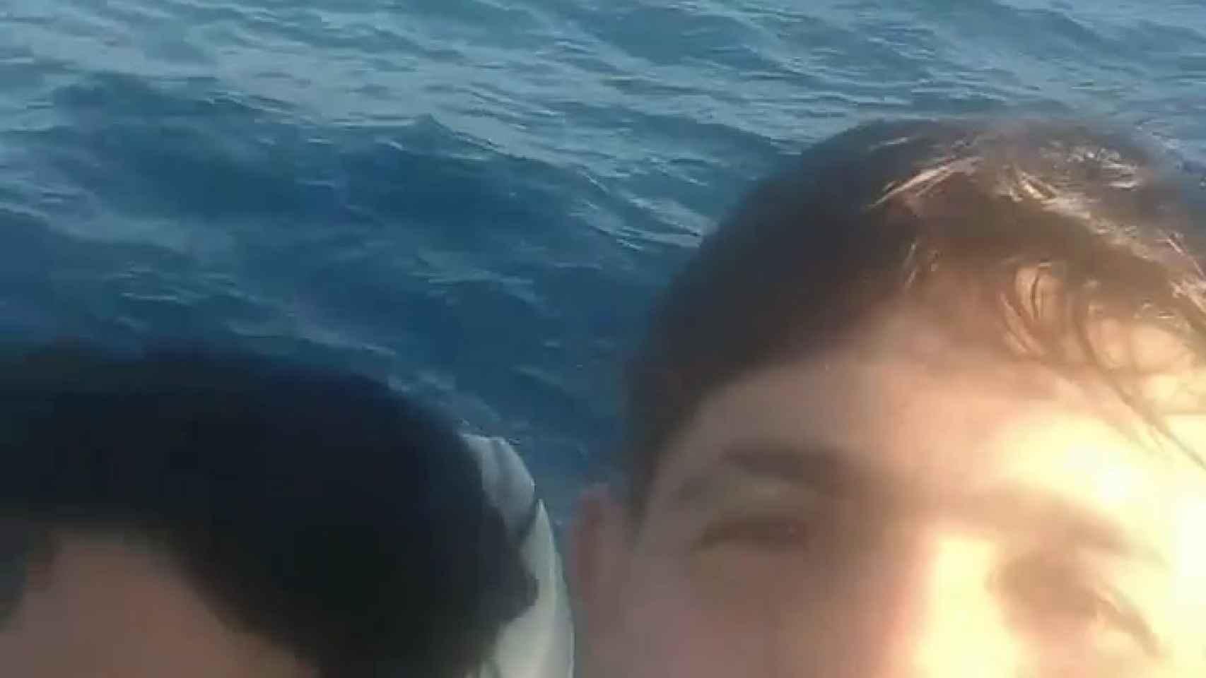 El sospechoso de un homicidio en Argelia huyó de su país en una patera rescatada por Salvamento Marítimo.