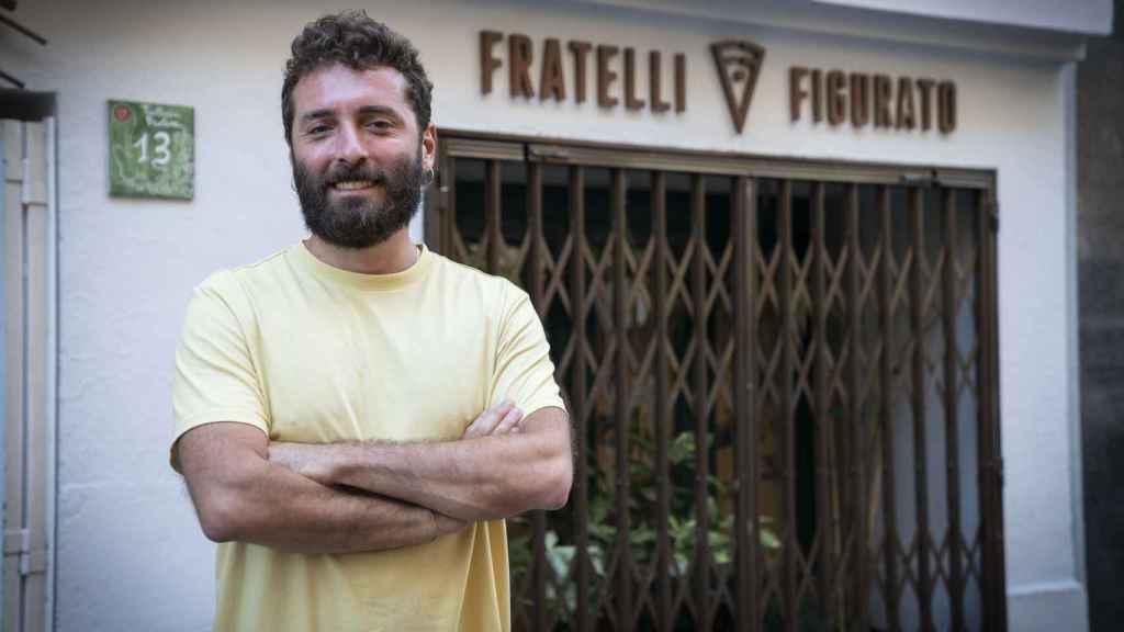 Vittorio, el mayor de los hermanos Figurato.