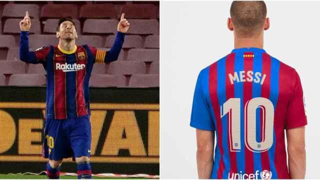 Messi desaparece de la web del Barça aunque su camiseta sigue estando a la venta