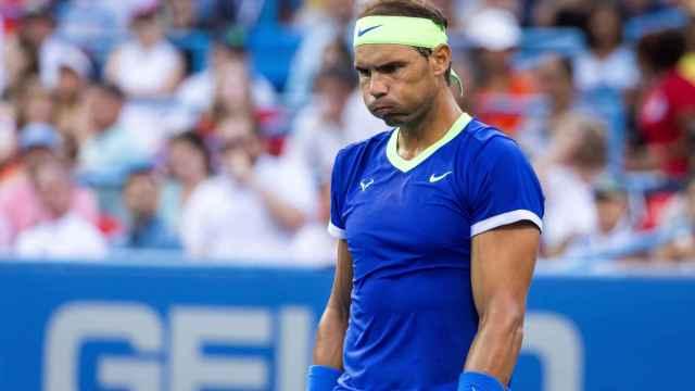 Rafa Nadal en el torneo Citi Open de Washington 2021
