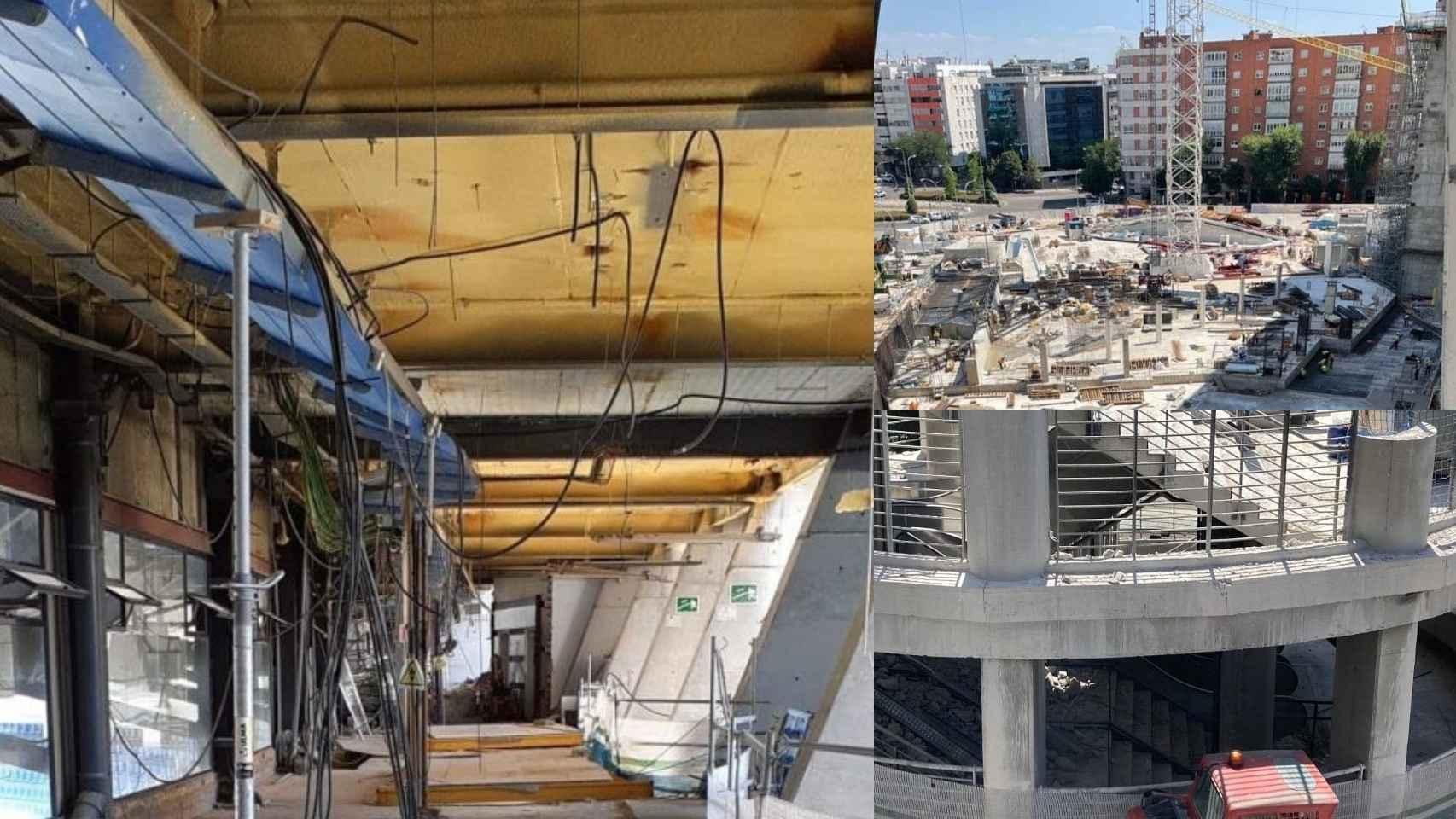 Los accesos del Santiago Bernabéu, a comienzos del mes de agosto de 2021