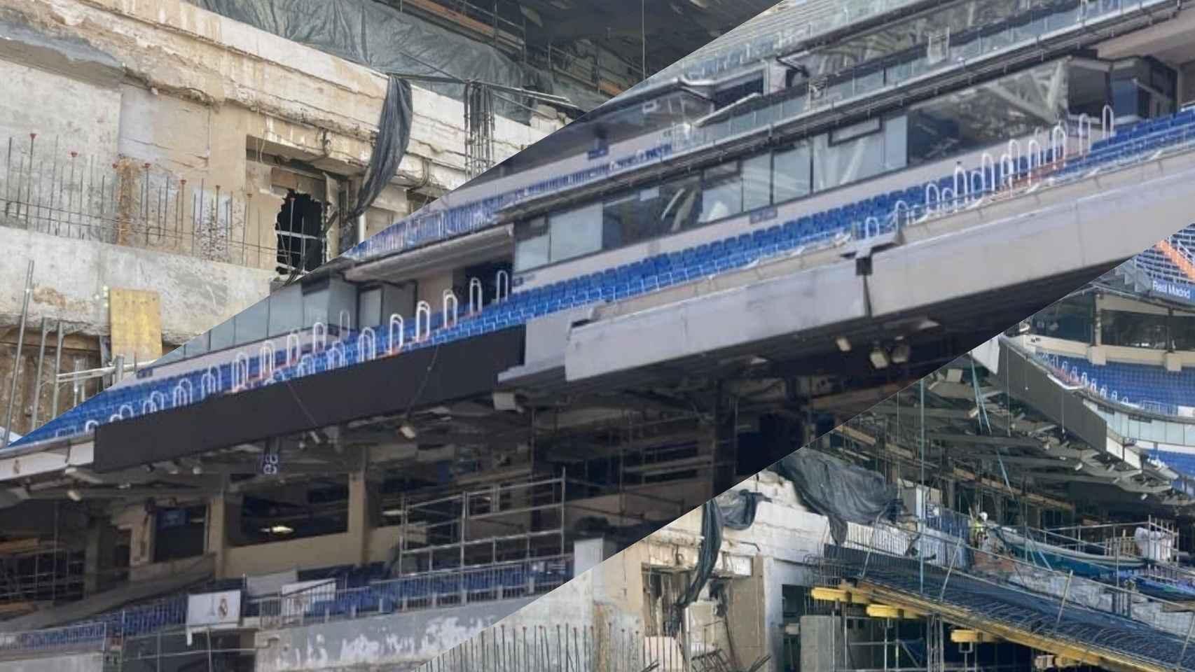 Las gradas del Santiago Bernabéu a comienzos del mes de agosto