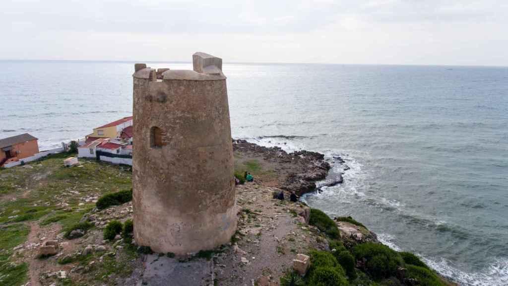 Torre de las Palomas está abandonada a su suerte.