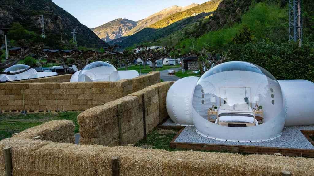 Hotel Burbuja Nomading Camp