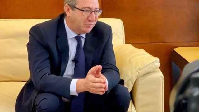 El presidente del PP de Alicante, Toni Pérez.