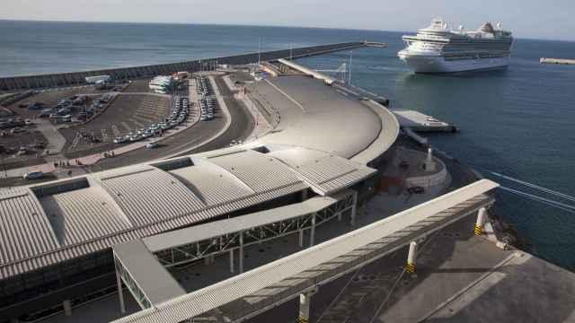 Imagen de la parcela donde se proyecta el hotel del puerto de Málaga.