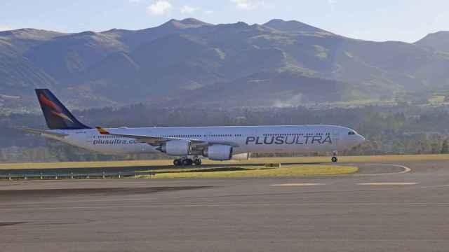 Avión de Plus Ultra en una imagen de archivo.