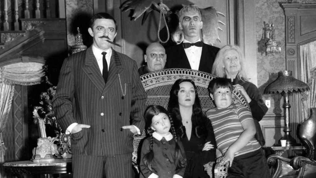 'La familia Addams', el cómic que lleva más de medio siglo ligada a la televisión