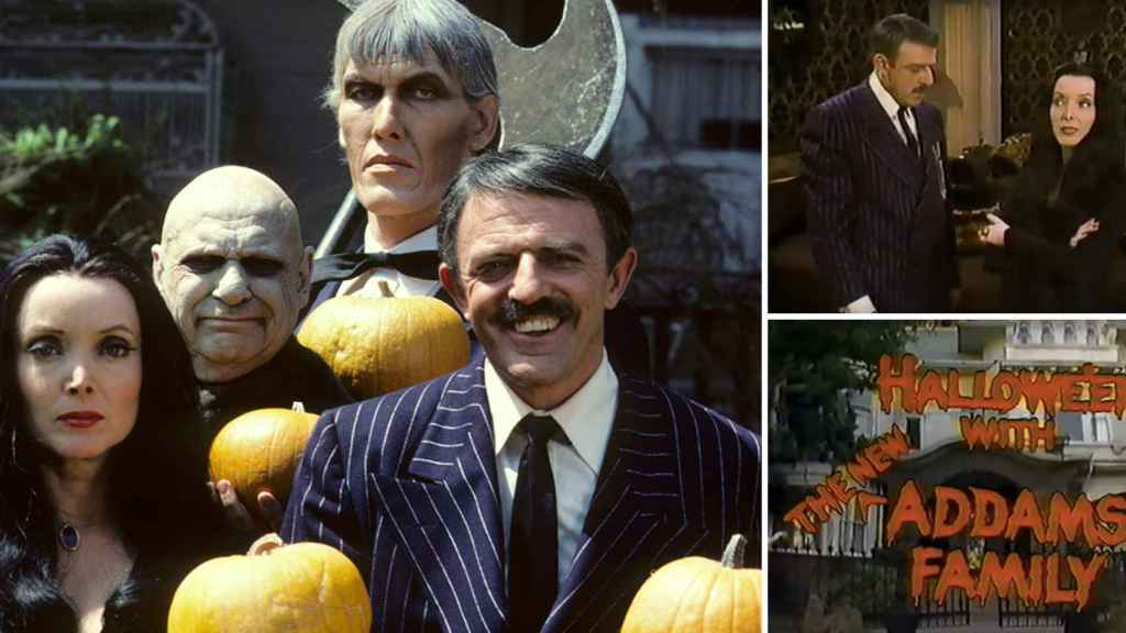 'Halloween with de new Addams family'