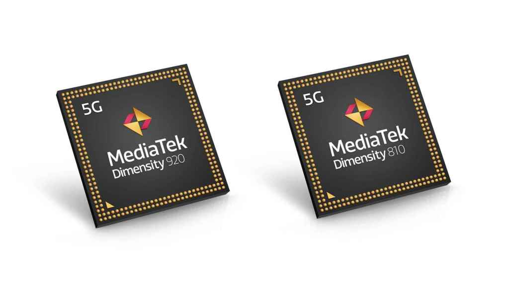 MediaTek Dimensity 920 y Dimensity 810