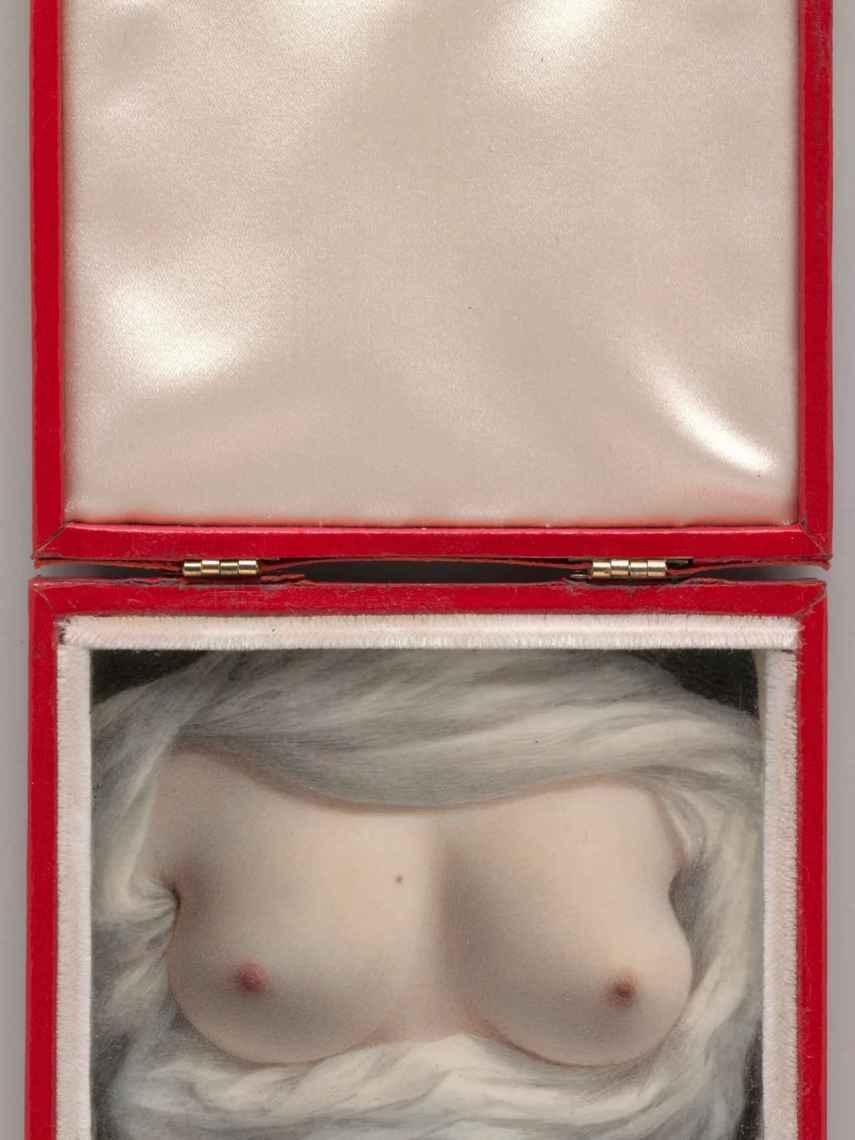 'Belleza revelada (Autorretrato)', 1828 deSarah Goodridge.