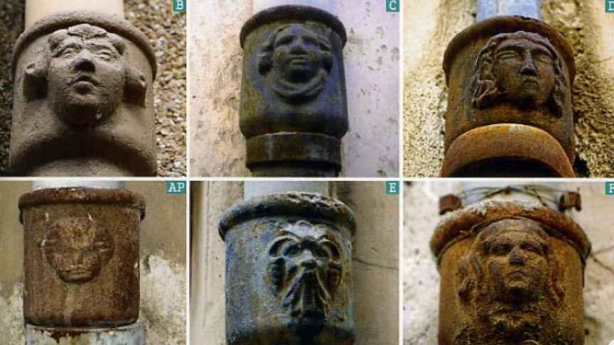 Algunas de las caras recogidas en la clasificación de Bernardo Garrigós en Xixona. Bernardo Garrigós