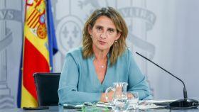 Teresa Ribera, vicepresidenta tercera y ministra para la Transición Ecológica y el Reto Demográfico