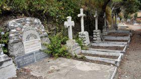 La tumba de Renate Brausewetter, estrella del cine alemán que debutó junto a Greta Garbo.