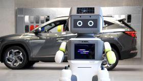 Ejemplo de un robot desarrollado por Hyundai.