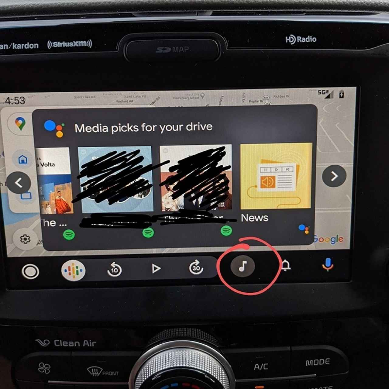 New Android Auto function