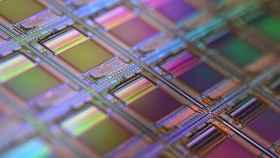 Imagen de un conjunto de chips