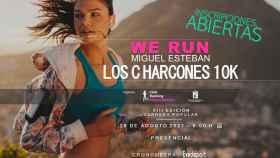 Cartel anunciador de la carrera 'Los Charcones 10K' de Miguel Esteban (Toledo)
