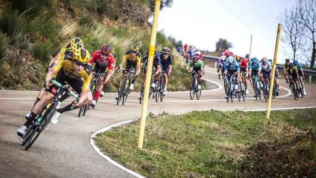Imagen de archivo de la Vuelta a España.