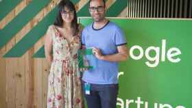 Noelia Novella y Nuno Rodrigues son fundadores de la startup Doinn.