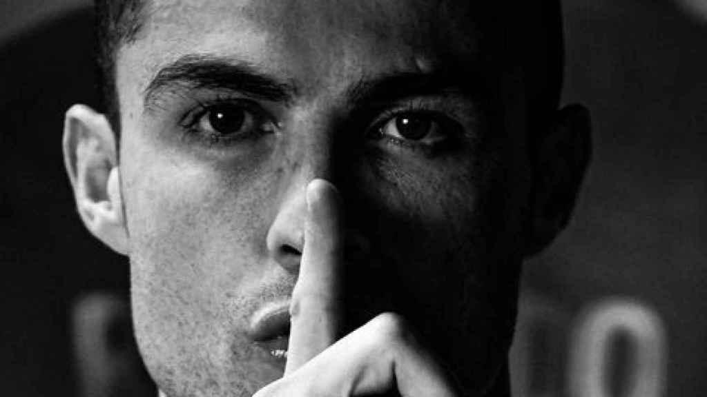 Cristiano Ronaldo manda callar en sus redes sociales