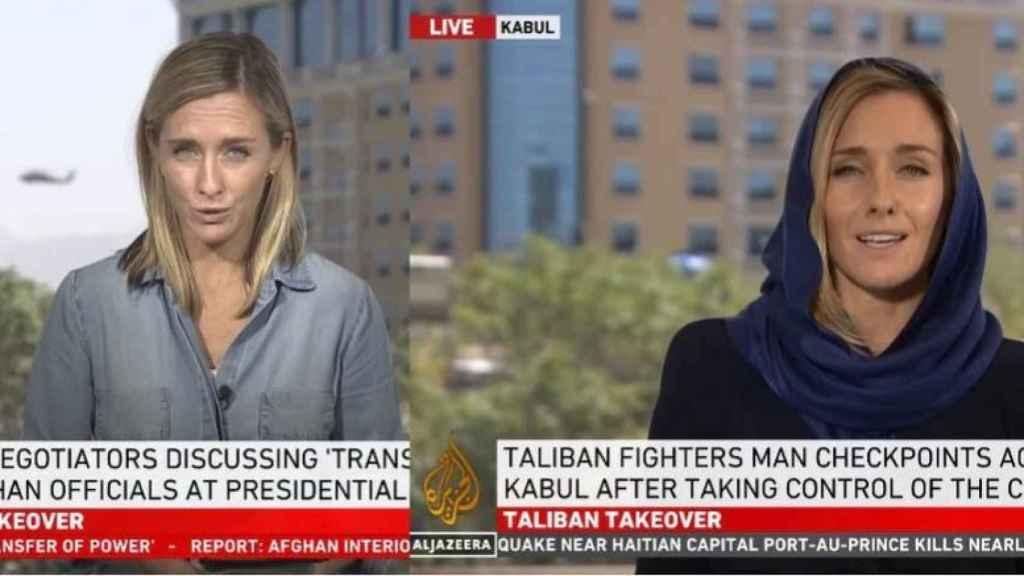 En antes y el después de las periodistas en Afganistán tras la llegada de los talibanes