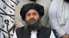 Baradar Akhund, líder de los talibanes, en una imagen reciente.