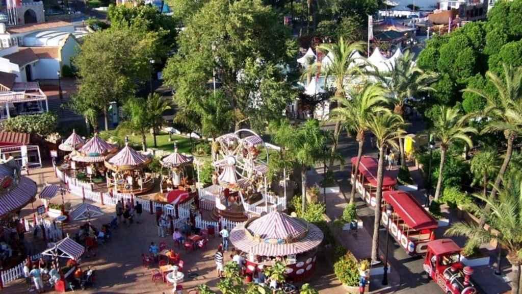 Imagen de archivo del parque de atracciones Tívoli, en Benalmádena.