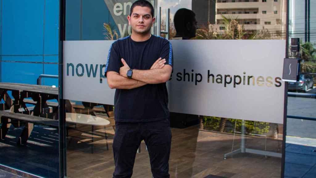 Alfonso de los Ríos, fundador de la startup Nowports.