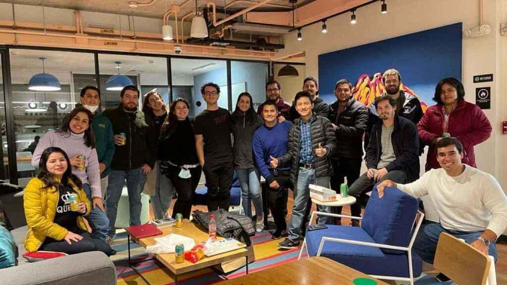 El equipo de la startup logística Nowports, agente destacado del ecosistema en Latinoamérica.